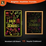 "Woodsam Lighted LED Writing Board - 28"" X"