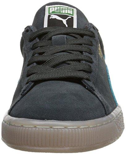 Puma Suede Klassiek Kust Lace-up Mode Sneaker Donkere Schaduw / Capri Bries