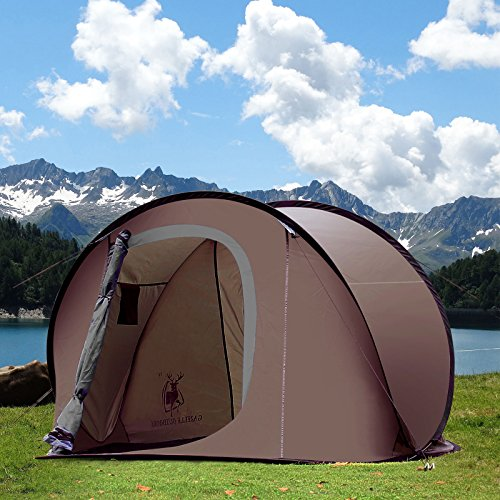 GREAT OUTDOOR CAMPING HIKING EASY FOLDABLE AUTOMATIC SETUP POP UP INSTANT DOME TENT (Seam Sealer For Down Jacket compare prices)
