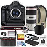 Canon EOS-1DX Mark II DSLR Camera w/Canon 70-200mm f/2.8L IS II USM Lens Bundle