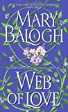 Front cover for the book Web of Love by Mary Balogh