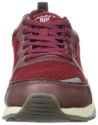 Gant Herren Apollo Sneaker Rot (vino Rosso)