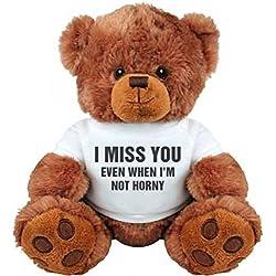 Funny Valentine's Day Gift Bear: Medium Plush Teddy Bear