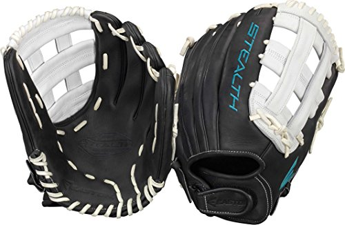 Easton Stealth Pro Fastpitch Series Outfield Pattern Gloves, 12.75
