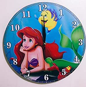 Kids Wooden Wall Clock Decorative 29 cm thickness 10 mm