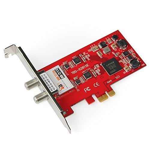 TBS DVB-T2/T/C tarjeta TV Dual Sintonizador TDT tarjeta de ...