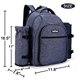 apollo walker Picnic Backpack Bag for 2 Person with
