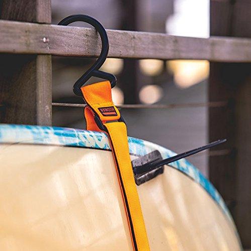 Hudman Works Strap & Hook XL, Bright Orange, 50'' by Hudman Works (Image #3)