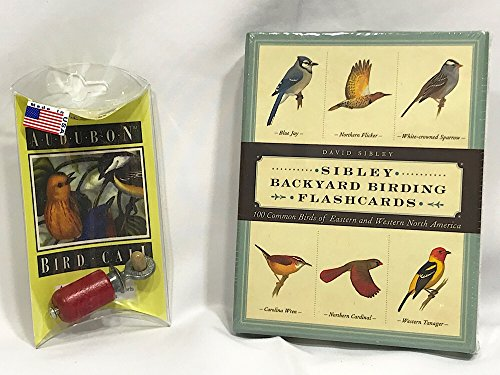 n Bird Call and Bird Identification Cards Bundle (Weatherproof Card Reader)