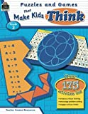 img - for Puzzles and Games that Make Kids Think Grd 2 book / textbook / text book