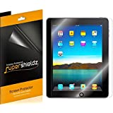 [3-Pack] SUPERSHIELDZ- Premium Anti-Glare (Matte) Screen Protector For Apple iPad (1st Generation) + Lifetime Replacements Warranty [3-PACK] - Retail Packaging