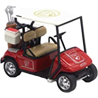 guoYL26sx Toys 1:36 Scale High Simulation Golf Cart Model Children Pull Back Toy Collection - Red