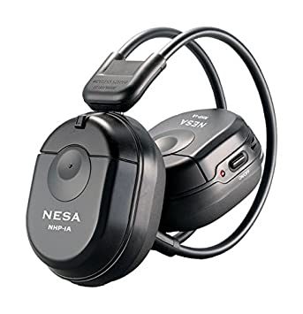 Image Unavailable Not Available For Color NESA NHP22 2 CH RF 900MHZ Wireless Headphones