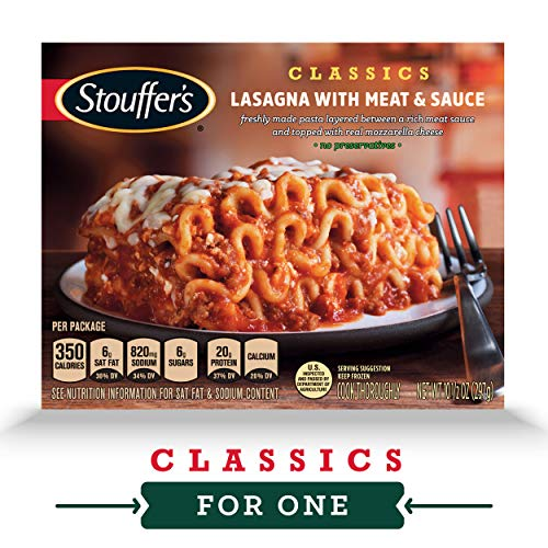 STOUFFER'S CLASSICS Lasagna with Meat & Sauce, Frozen Meal