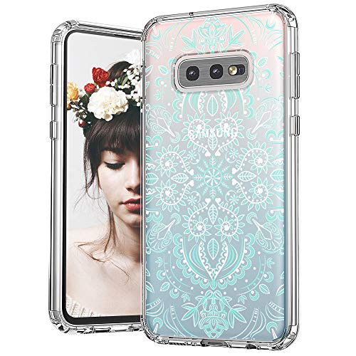 Mosnovo Galaxy S10e Printed Pattern Transparent Plastic Case