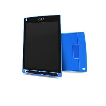 Pizarra Digital de 8.5 Pulgadas con Pantalla LCD para Escribir en la Tableta, para Escribir en la Oficina, para niños y niños Azul