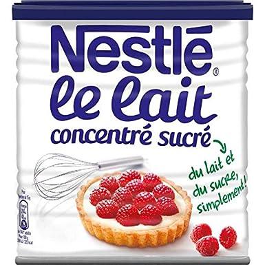 Nestlé - La Leche Condensada Azucarada 1Kg - Lot De 3 ...