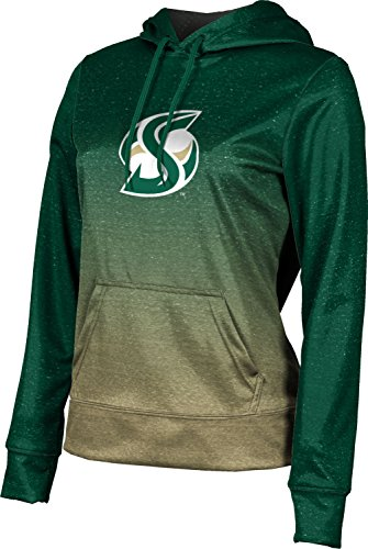 ProSphere Sacramento State University Women's Pullover Hoodie, School Spirit Sweatshirt (Ombre) FD071 Green and -