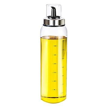 LOVLY Botella De Aceite Grande A Prueba De Fugas, Botella De Vidrio Grande De La Cocina (Capacity : 300ml): Amazon.es: Hogar