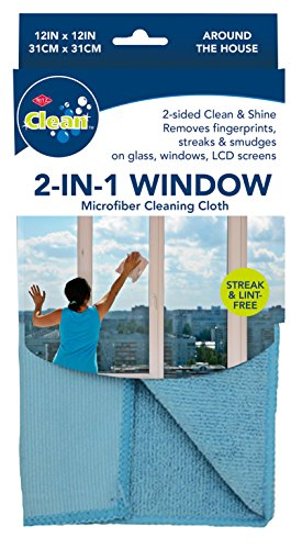 Ritz 2-in-1 Microfiber Window Cleaning Cloth