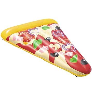 Roderick Irving Cuna Flotador Hinchable Pizza Party 188 x 130 cm Casa y jardín Piscina y SPA Accesorios Piscina y SPA: Amazon.es: Jardín