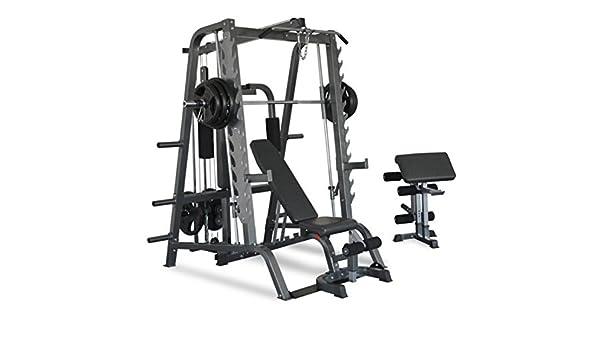 Titanium Strength 680T Total Smith Machine: Amazon.es: Deportes y aire libre