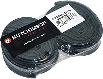 HUTCHINSON 316970 Pack de 2 cámaras, 27.5 x 1.70-2.35, Presta válvula, 48 mm