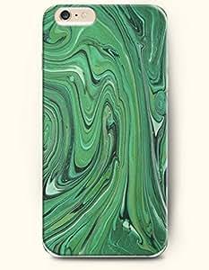 OOFIT Stylish Malachite Pattern Case for Iphone 6 (4.7inch)- Retro Malachite Wood Lines by icecream design