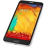 """Note4 Style WALSUN 5.7"""" 3G Android 4.2 Smartphone(Dual SIM,IPS Screen,Quad Core,WiFi,Dual Camera)-Black"""