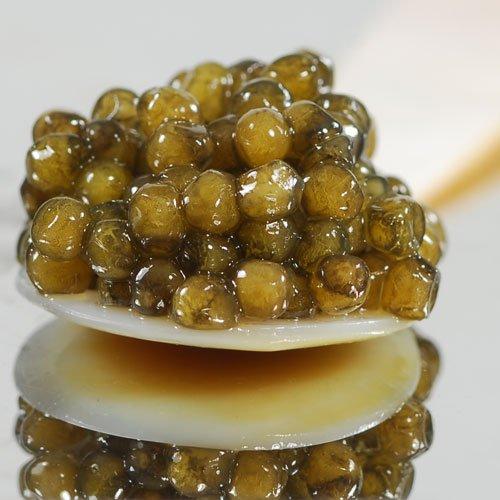 Osetra Golden Imperial Caviar Malossol - 1 oz (28.5 (Caspian Imperial Osetra Caviar)
