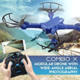 Ruhiku GW JJRC H38 RC Drone Remote Control FPV Wifi Quadcopter 2.4GHz 6-Axis Gyro 4CH Helicopter with 2MP HD Camera Wide Angle Lens Time Transmission Built-in Rechargeable Battery