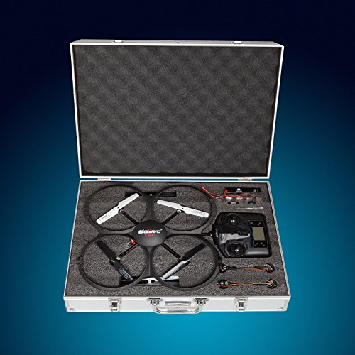 Drone Carrying Case for The UDI U818A HD - Safe Travel Accessories for Quadcopters