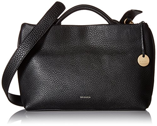 Skagen Mikkeline Mini Satchel, Black by Skagen
