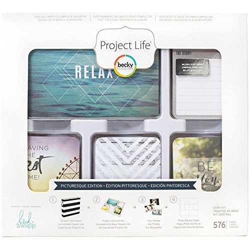 Project Life Heidi Swapp Picturesque Edition Core Kit