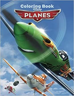 Amazon.com: Disney Planes: Coloring Book for Kids and Adults ...