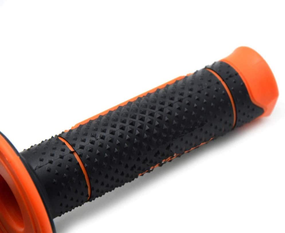 SayHia 7//8Gel de poign/ée de poign/ées en Caoutchouc Moto 22mm pour KTM Duke 125 200 250 390 390
