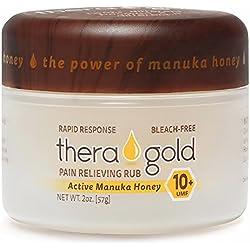Anti Inflammatory Cream Pain Relief Cream With Manuka Honey Cream For Carpeltunnel, Fibromyalgia, Sciatica, Arthritis, Back Pain, Tennis Elbow, Plantar Fasciitis, Sore Muscles, Joints, Chronic Aches