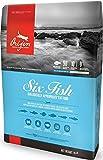 Orijen SIX Fish Dry Cat Food 4 LB. Bag Made New England Mackerel, Herring, FLOUNDER, Redfish, Monkfish Silver Hake Review