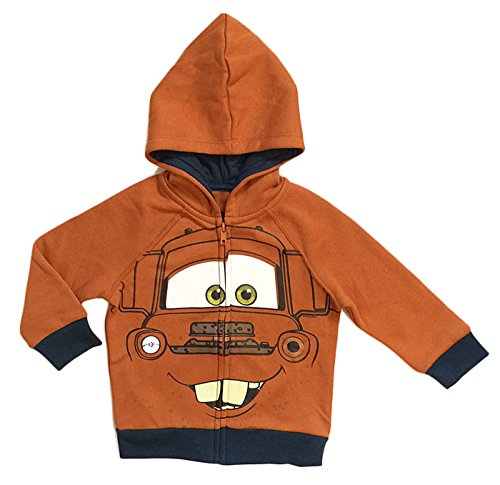 (Disney Cars 3 Toddler & Little Boys Tow Mater Character Hoodie)