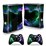 MightySkins Protective Vinyl Skin Decal Cover for Microsoft Xbox 360 S Slim + 2 Controller skins wrap sticker skins Hot Love