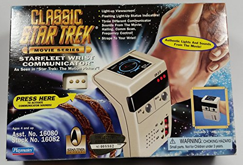 - Star Trek Starfleet Movie Wrist Communicator Classic