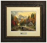 The Valley of Peace - Thomas Kinkade Prestige Home Collection (Bronze Frame)