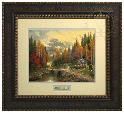 The Valley of Peace - Thomas Kinkade Prestige Home Collection (Bronze Frame) by Thomas Kinkade