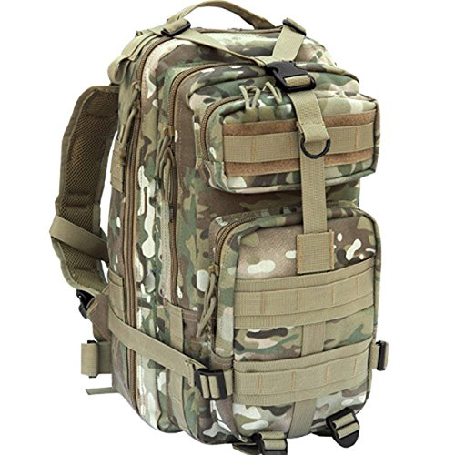 Waterproof outdoor camping hiking bag Tactical Waist Bag CP - 1