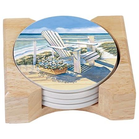 51lSR8NVxDL._SS450_ Beach Coasters and Coastal Coasters