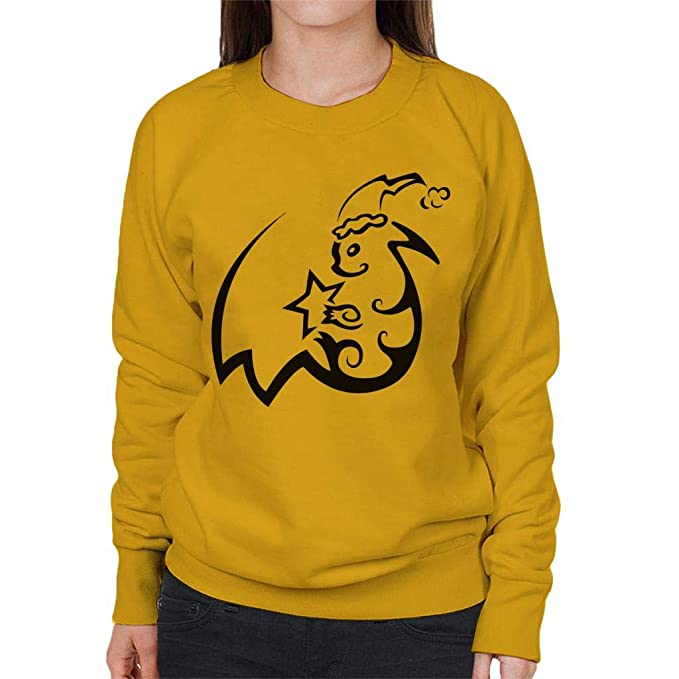 Tribal Christmas Pikachu Pokemon Womens Sweatshirt