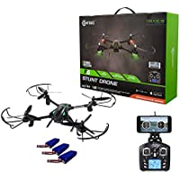 Memorial Day Deal! Contixo F6 RC Quadcopter Racing Drone 2.4Ghz W/720P Rotating HD Camera, FPV Live Feed, Headless, 3 Batteries Included, Mobile App, Hover, VR Ready - Best Gift
