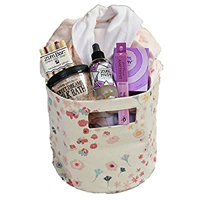 All Natural Spa Gift Basket for Birthdays, Anniversaries, Thank You - Organic Bathrobe and Bath Products