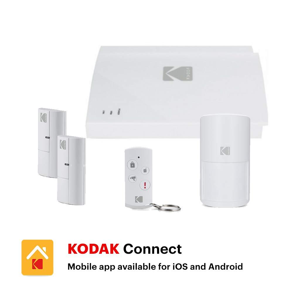 KODAK Kit de Alarma SA101 - Kodak Connect App, Sirena y ...