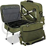 391486ad5cc NGT Carp Fishing Deluxe Anglers Box Case Tackle & Bait Storage System with  Legs